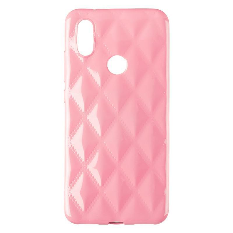 Baseus Rhombus Case for Xiaomi Mi A2/Mi6x Light Pink