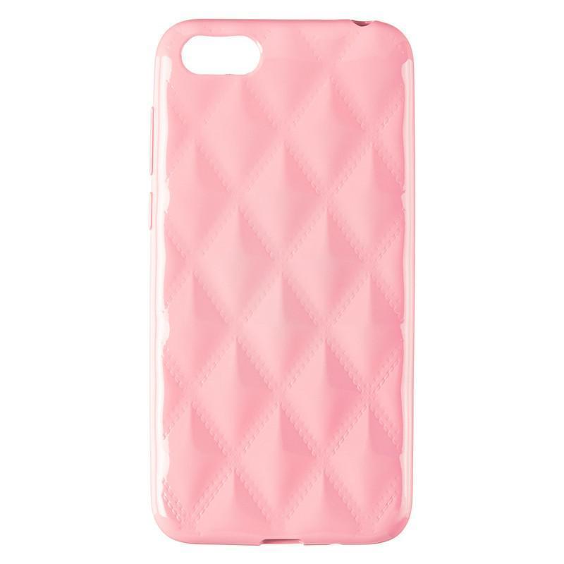 Baseus Rhombus Case for Huawei Y5 (2018) Light Pink