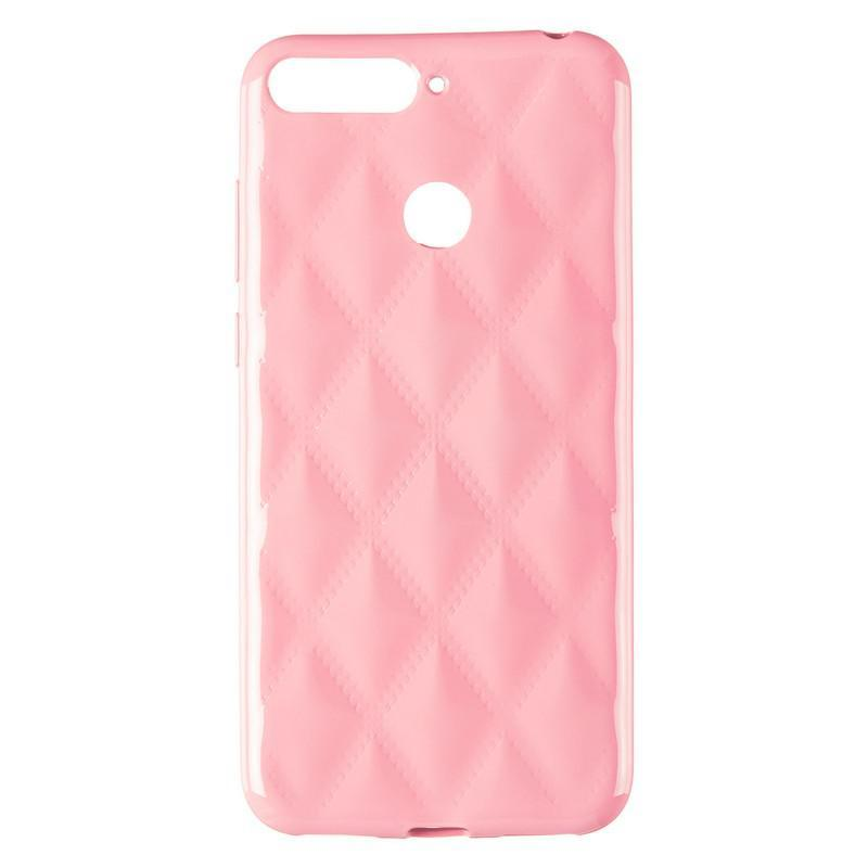 Baseus Rhombus Case for Huawei Y6 Prime (2018) Light Pink