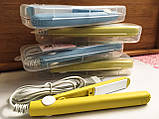 Мини утюжок для волос дорожный в прозрачном кейсе, щипцы для волос, мини выпрямитель, Красота и здоровье, фото 2