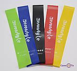 Фитнес резинки для фитнеса 5 шт + чехол , набор лент-эспандеров для фитнеса, петли сопротивления, Товары для, фото 7