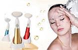 Ультразвуковая щетка для умывания и чистки лица pobling face cleaner, для чистки лица Массажная щетка для, фото 6
