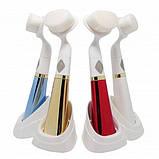 Ультразвуковая щетка для умывания и чистки лица pobling face cleaner, для чистки лица Массажная щетка для, фото 10