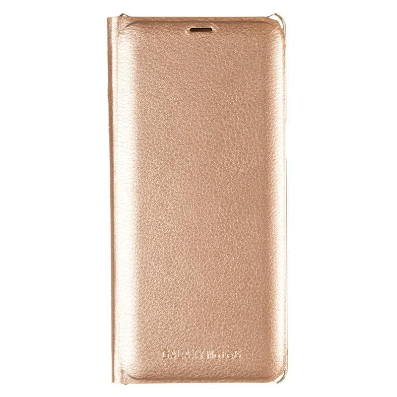 Original Book-Case Samsung J810 (J8-2018) Gold
