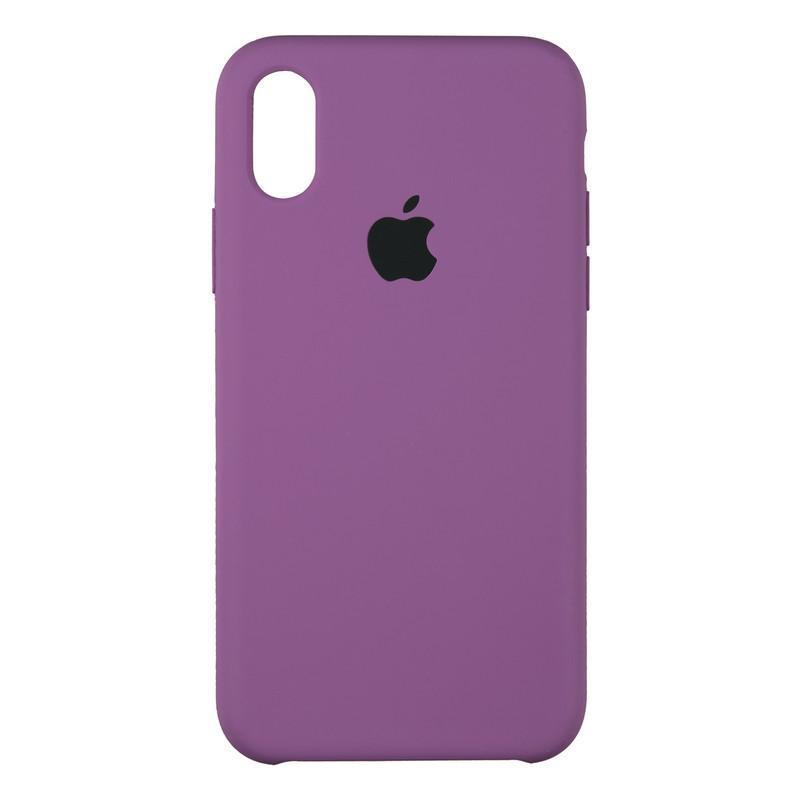 Original Soft Case iPhone XS Max Violet (30)