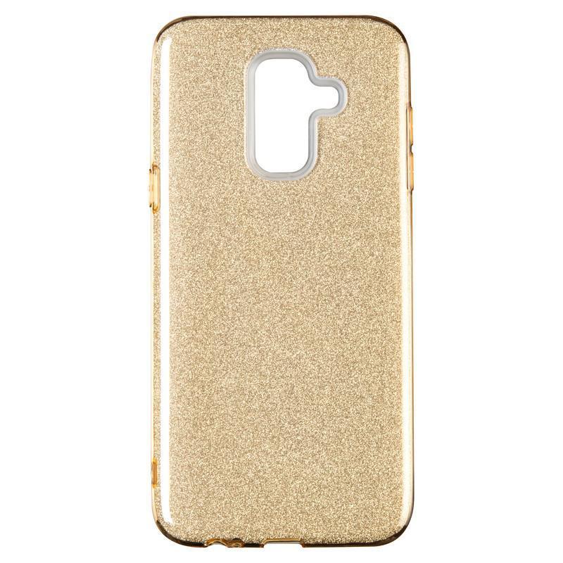 Remax Glitter Silicon Case Samsung J260 (J2 Core) Gold
