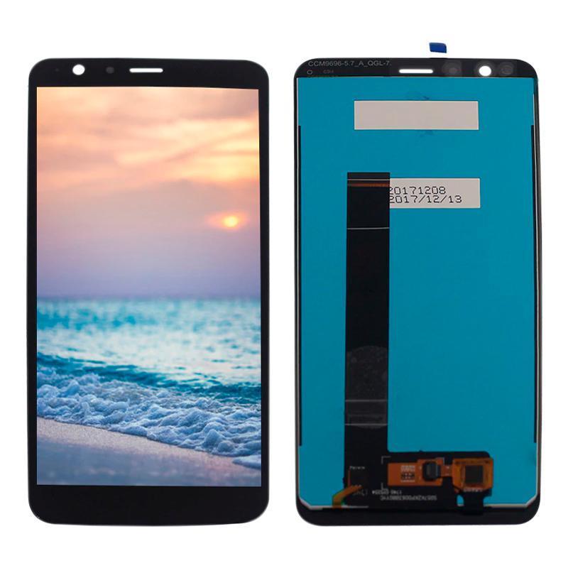 Дисплейный модуль (LCD + touch) ASUS Zenfone Max Plus M1 черный original (ZB570TL)