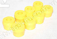 Втулка амортизатора УАЗ полиуретан (желтый) (компл.8шт) (Украина)