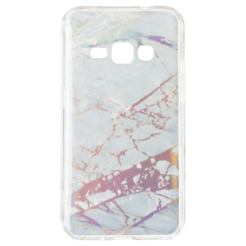 Baseus Mramor Shine Case for Samsung J260 (J2 Core) Silver