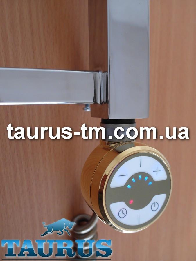Золотой ТЭН TERMA MOA Gold с регулятором 30-65C + таймер 2ч. +LED, Польща 1/2. Для полотенцесушителя 120-1000W
