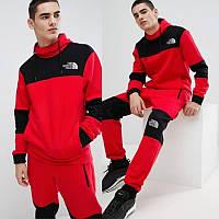 Мужской спортивный костюм красно-черный 46 48 50 52