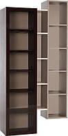 Открытый стеллаж со стеклянными дверцами HiFi
