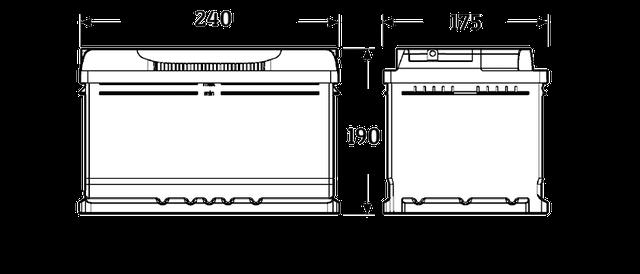 Размер АКБ