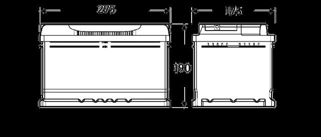 Размер аккумулятора
