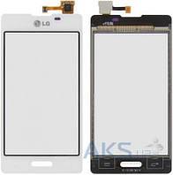 Сенсор (тачскрин) для LG Optimus L5 E450, Optimus L5 E460 Original White