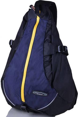Городской прочный рюкзак-гитара  20 л. Onepolar (Ванполар) W1305-navy