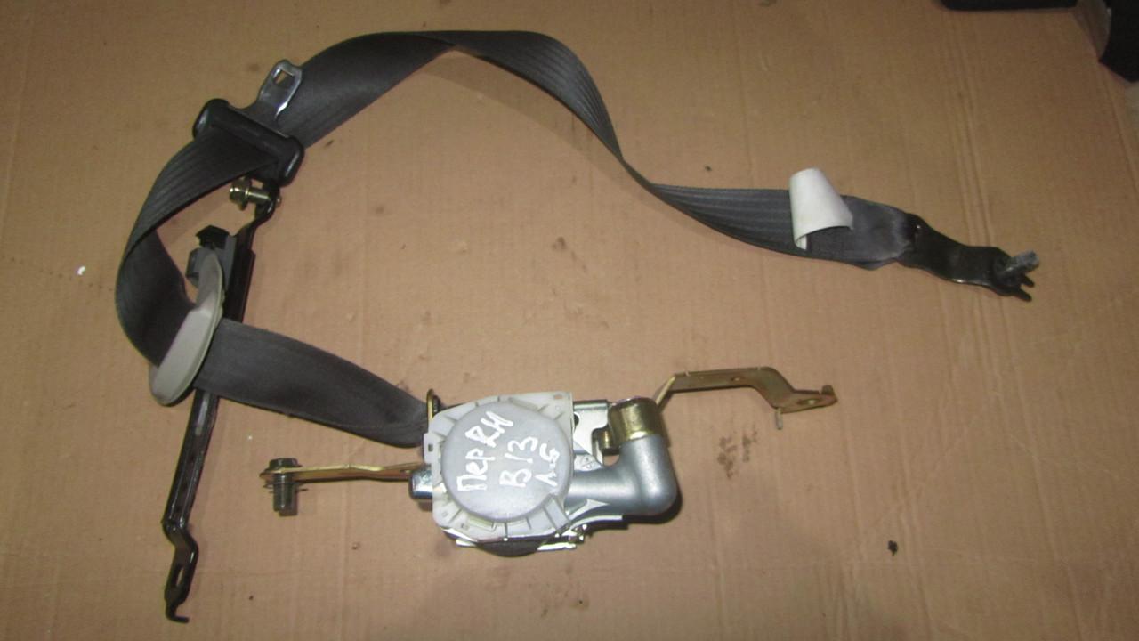 Ремень безопасности с пиропатроном правый Subaru Legacy B13