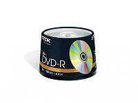 Диск TDK DVD-R 4,7Gb 16x Cake 50 pcs