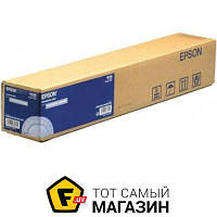 Бумага Epson 350 г/м.кв., рулон 432 мм х 12.2м, сатин (C13S041846) 432 мм — офисная для плоттера 350