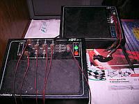 Прибор для проверки работоспособности диодных мостов. Позволяет выявить неисправности диодов которые нельзя обнаружить с помощью тестера или контрольной лампочки.
