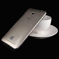 Чехол силиконовый для Asus Zenfone 5 A500CG / A501CG / A502CG прозрачный ультратонкий