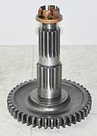 Вал вторинний КПП з гайкою (ПО МТЗ) 50-1701256