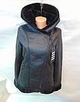 Поступление товара на склад - зимние куртки на меху из кожзама оптом