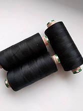 Нитки Amann Saba  150/4000 /1000м чорний
