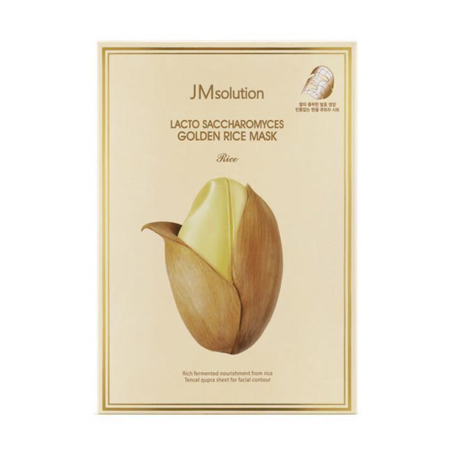 Очищающая питательная маска с аминокислотами риса JMsolution Lacto Saccharomyces Golden Rice Mask