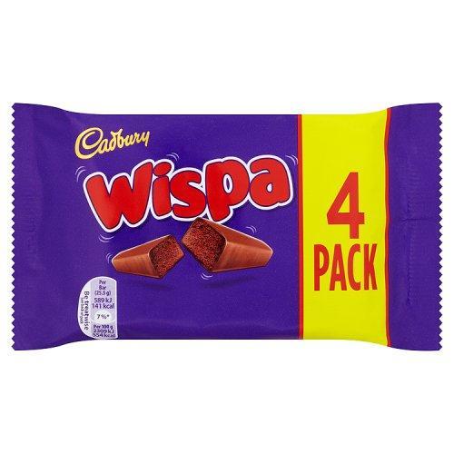 Молочный шоколад Cadbury Wispa 4 Bars 120 g