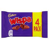 Молочный шоколад Cadbury Wispa 4 Bars 120 g, фото 1