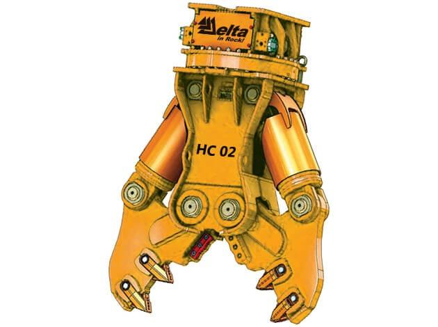 Гидроножницы для разрушения бетона Delta HC 05ND