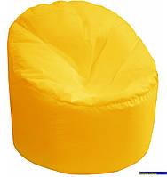Пуф-мешок Пенек БМО14 желтый 90х80