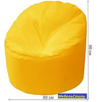 Пуф-мешок Пенек БМО14 желтый 90х80, фото 2