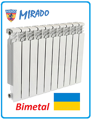 Биметаллический радиатор отопления MIRADO 500 х 100 Украина