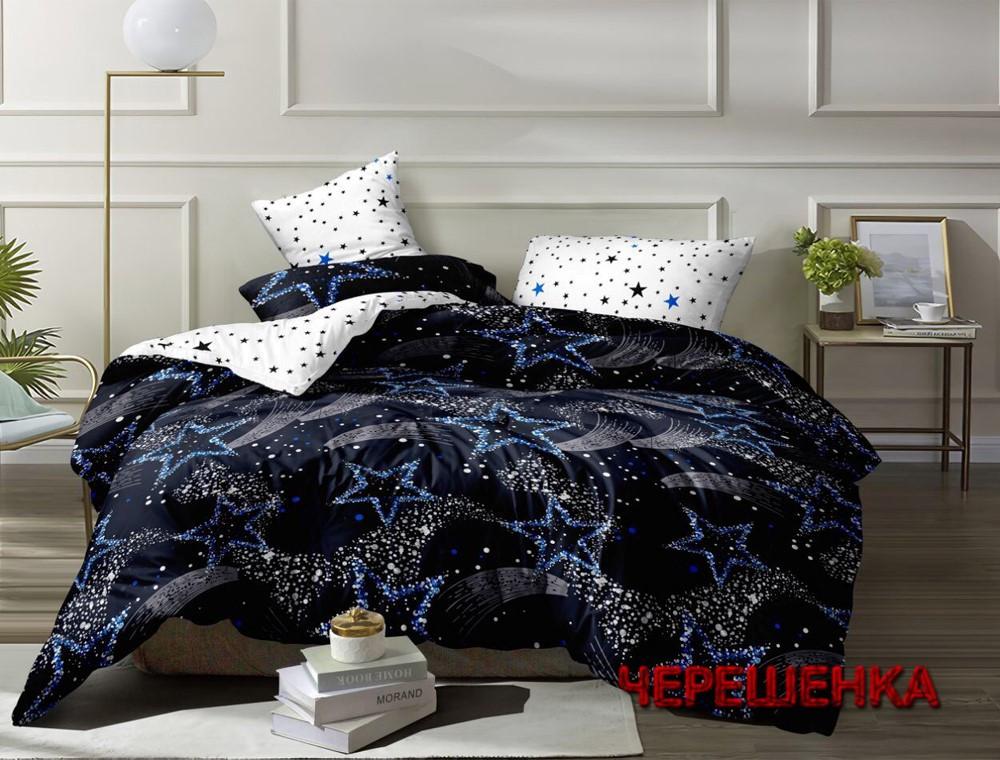 Полуторный набор постельного белья 150*220 из Ранфорса №183088AB Черешенка™