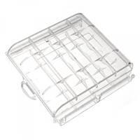 Футляр кейс коробочка для аккумуляторов AA, AAA, прозрачный, фото 1