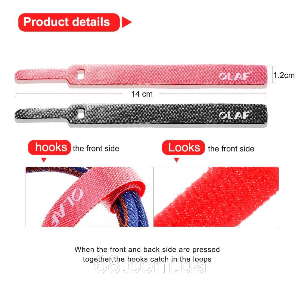 Липучка для USB проводів і кабелів OLAF