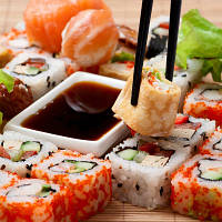 Продукты для приготовления суши