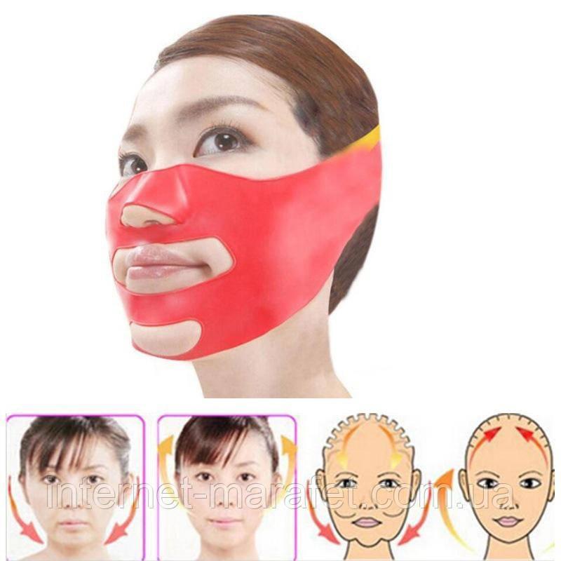 Силиконовая маска для лица.
