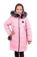 Пальто для девочки зимнее  от производителя  34-42 розовый