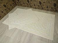 Набор ковриков для ванной комнаты и туалета 60Х100. Хлопок. (Турция), фото 1