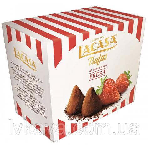 Конфеты трюфели Lacasa Trufas клубника , 200 гр, фото 2