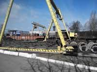 Строительная лицензия 2015 и ремонт кранового рельсового пути отделения комплексной подготовки лома металлургического завода.