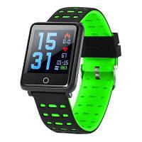Фитнес браслет F21 green дисплей 1.44 фитнес-трекер, тонометр, smart