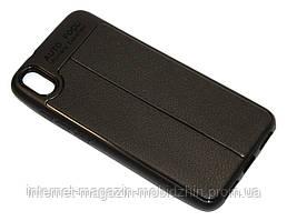 Чехол силиконовый Huawei Honor 8X черный Skin Shield