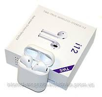 Bluetooth Headset AirPods i12 v5.0 наушники гарнитура для смартфонов