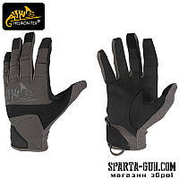 Рукавиці Helikon-Tex® Range Tactical Hard - Black-Shadow Grey