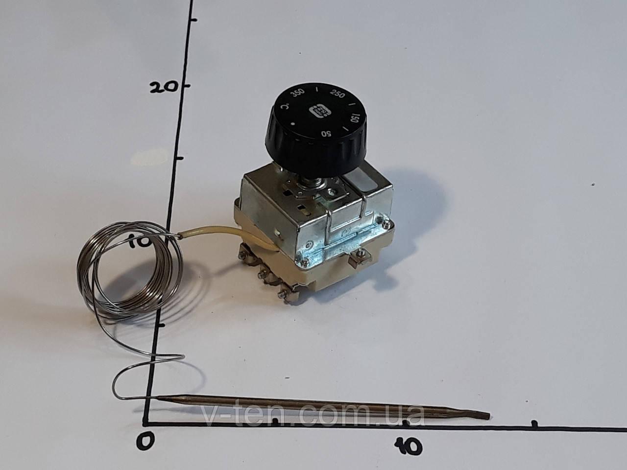 Терморегулятор 50-350°C  капиллярный (трёхполюсный) MMG (Венгрия)