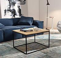 Кофейный Журнальный столик LOFT прямоугольный 450*500*500, фото 1